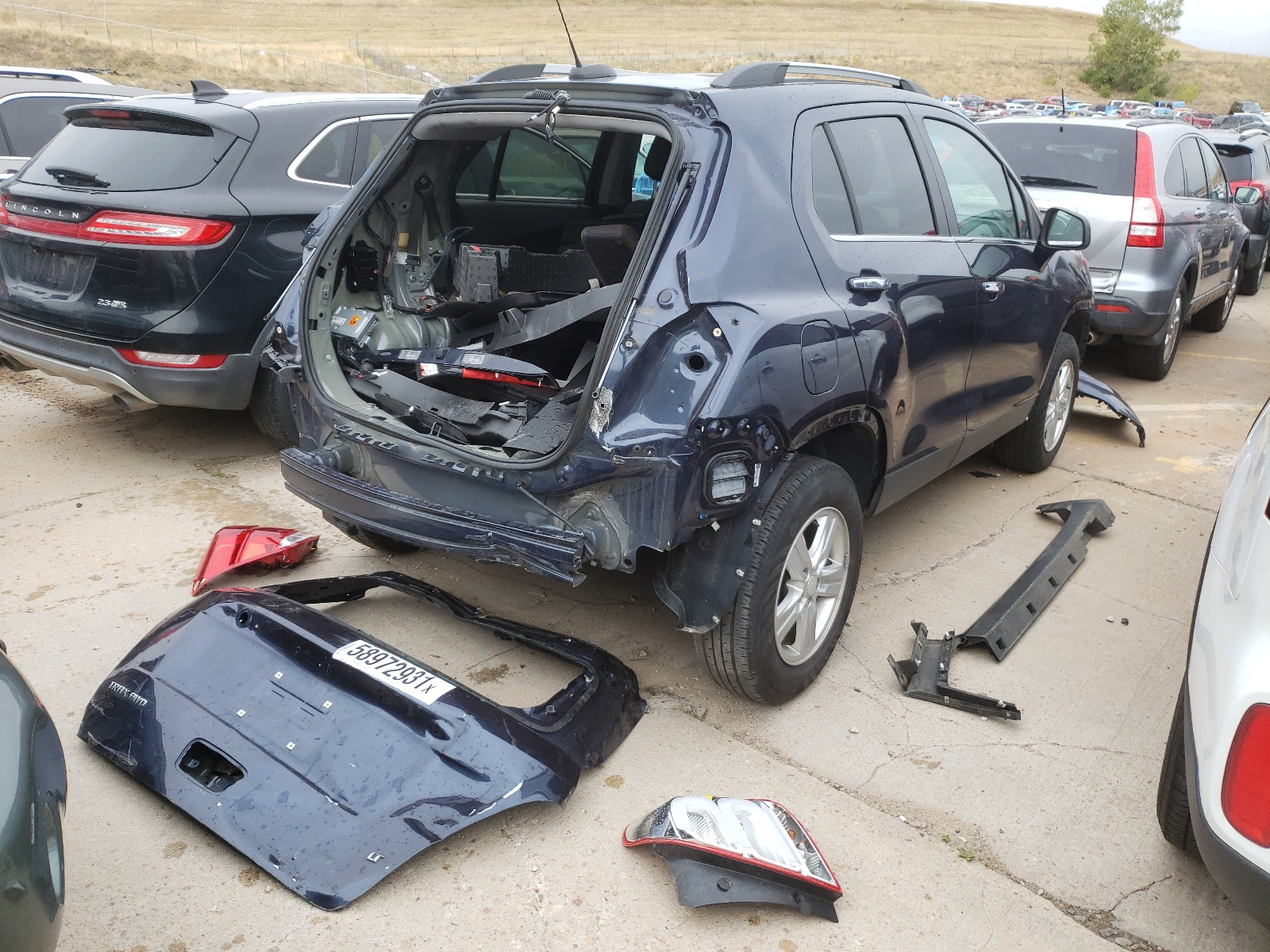 Chevrolet Trax 1lt 2018