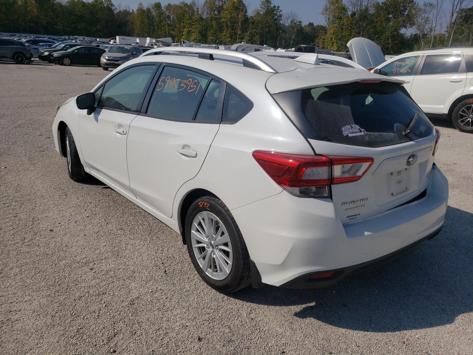 Subaru Impreza pr 2017