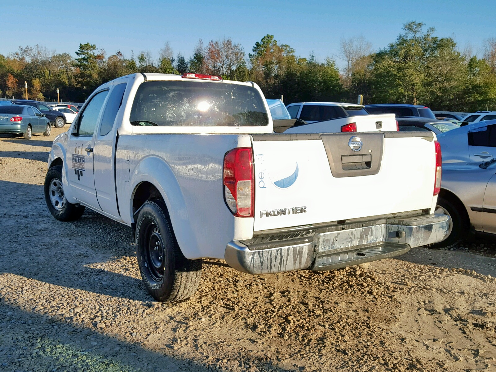 1N6BD0CT4BC446136 - 2011 NISSAN FRONTIER S