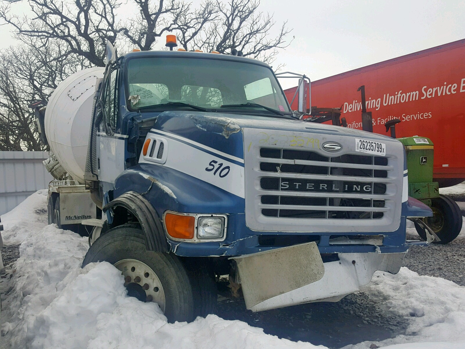 click here to view 2001 STERLING TRUCK LT 9500 at IBIDSAFELY