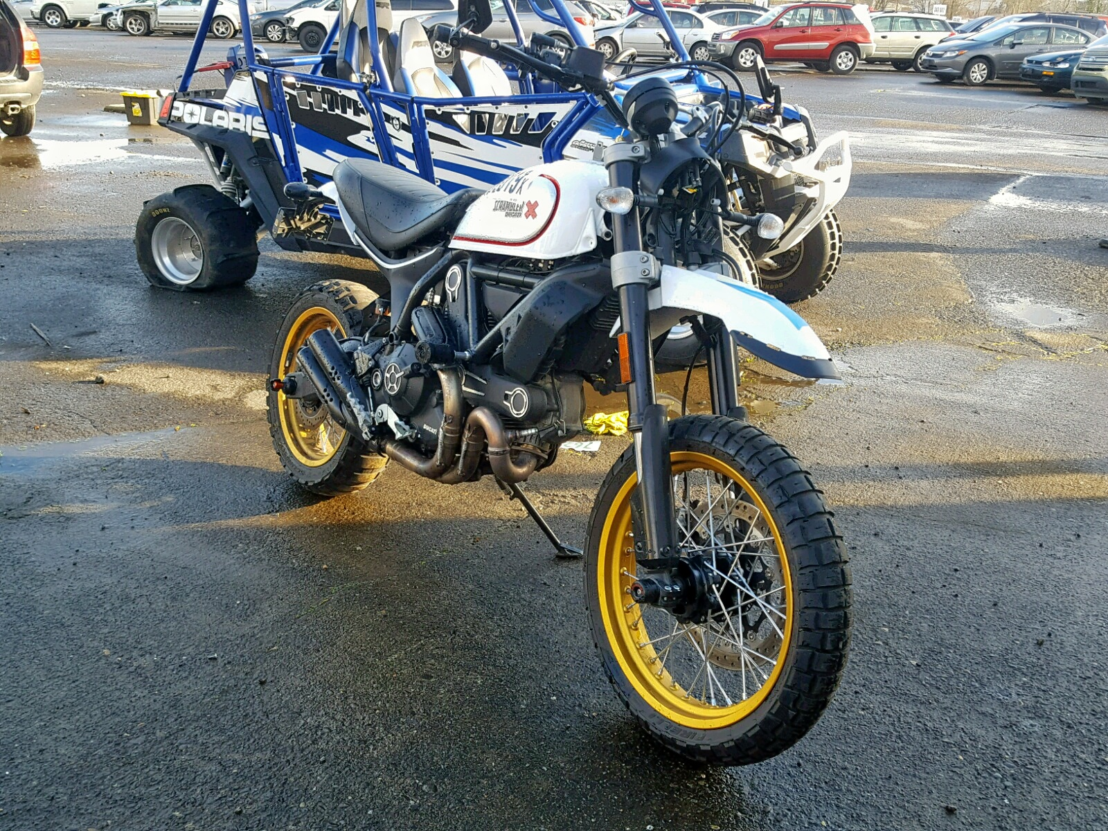 click here to view 2018 DUCATI SCRAMBLER at IBIDSAFELY