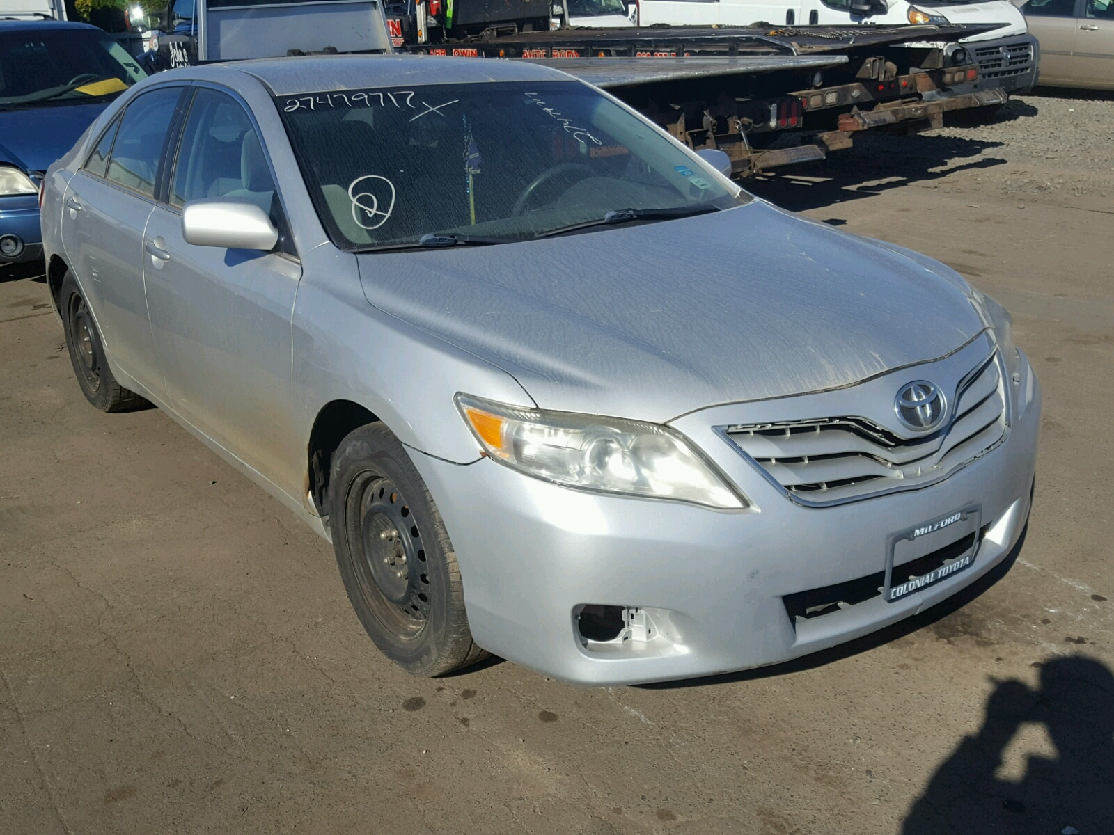 COPART Lot #27479717 2010 TOYOTA CAMRY/SE/L