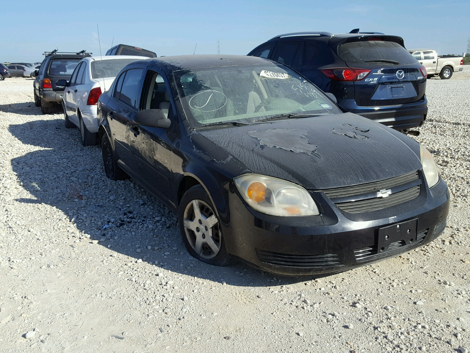 COPART Lot #25319437 2005 CHEVROLET COBALT