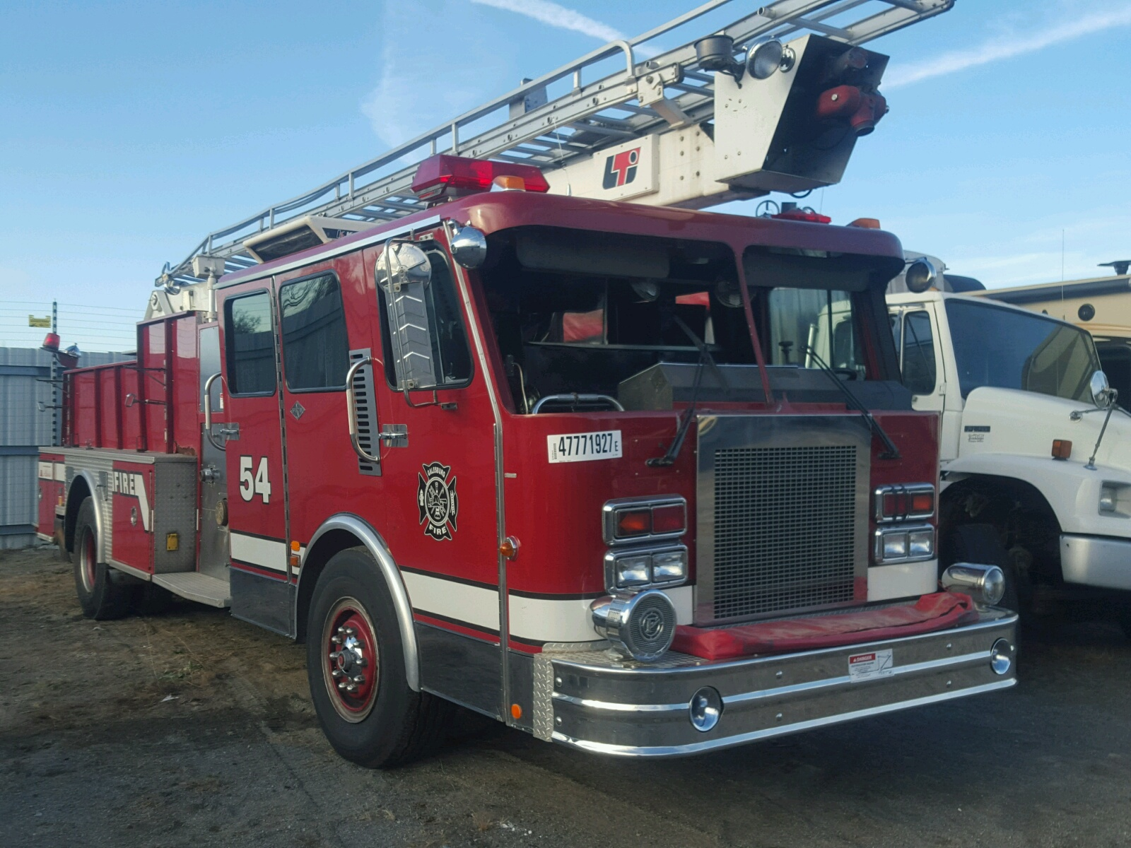 click here to view 1988 SPARTAN MOTORS FIRETRUCK at IBIDSAFELY