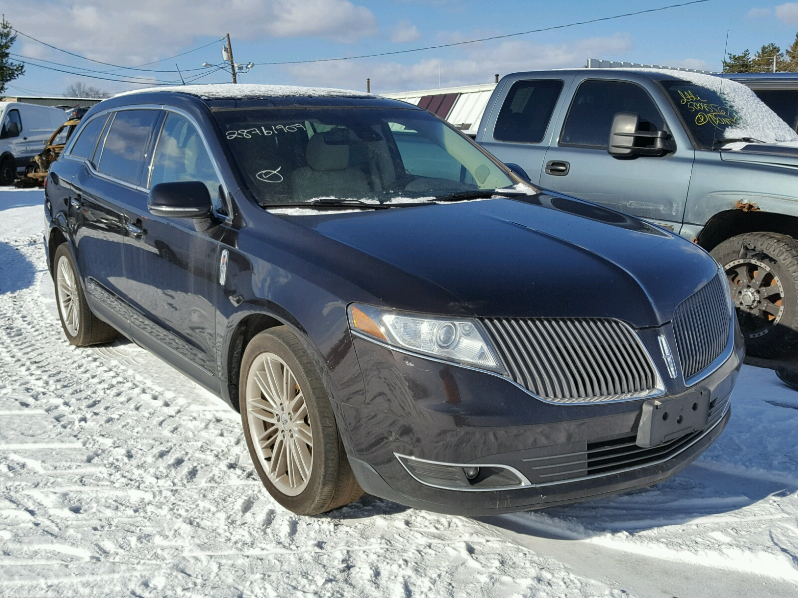 COPART Lot #28761907 2013 LINCOLN MKT AWD
