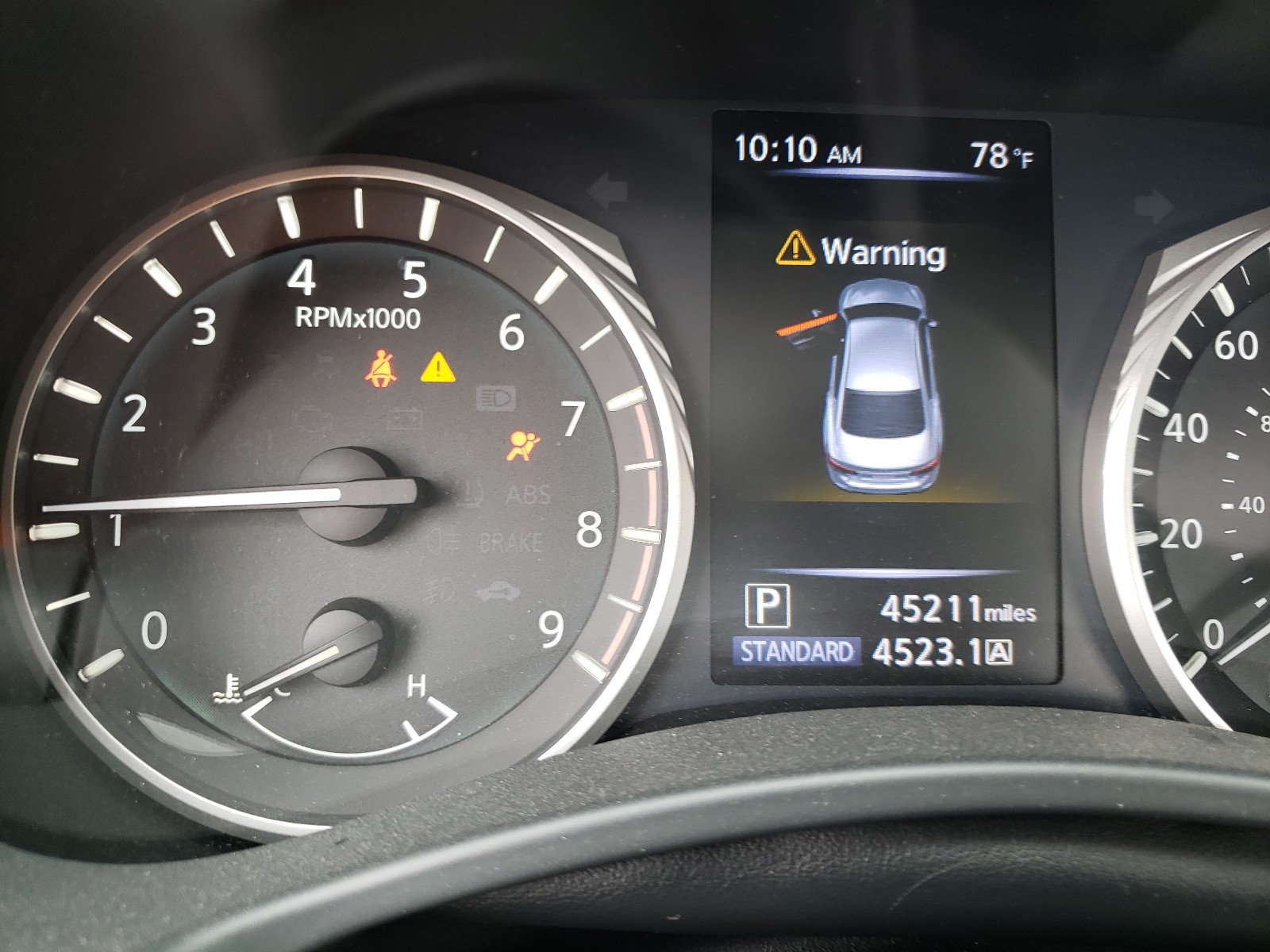 Infiniti Q50 luxe 2018