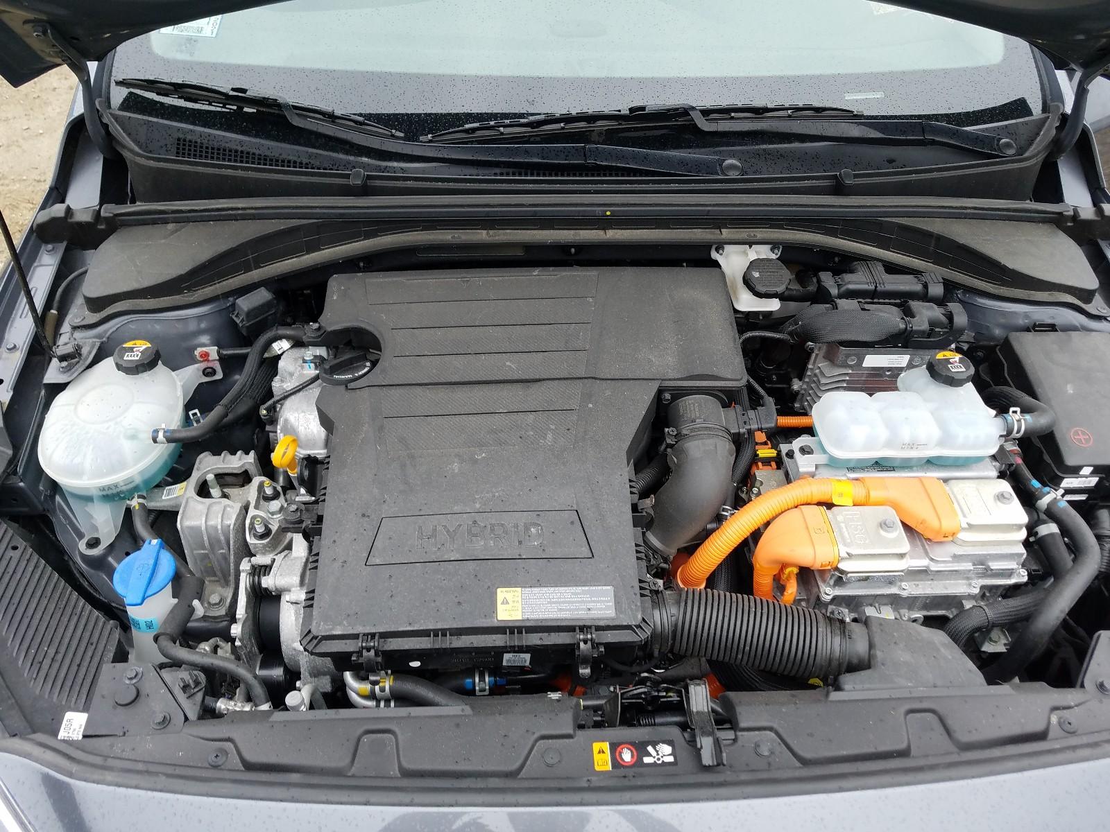 Hyundai Ioniq blue 2019