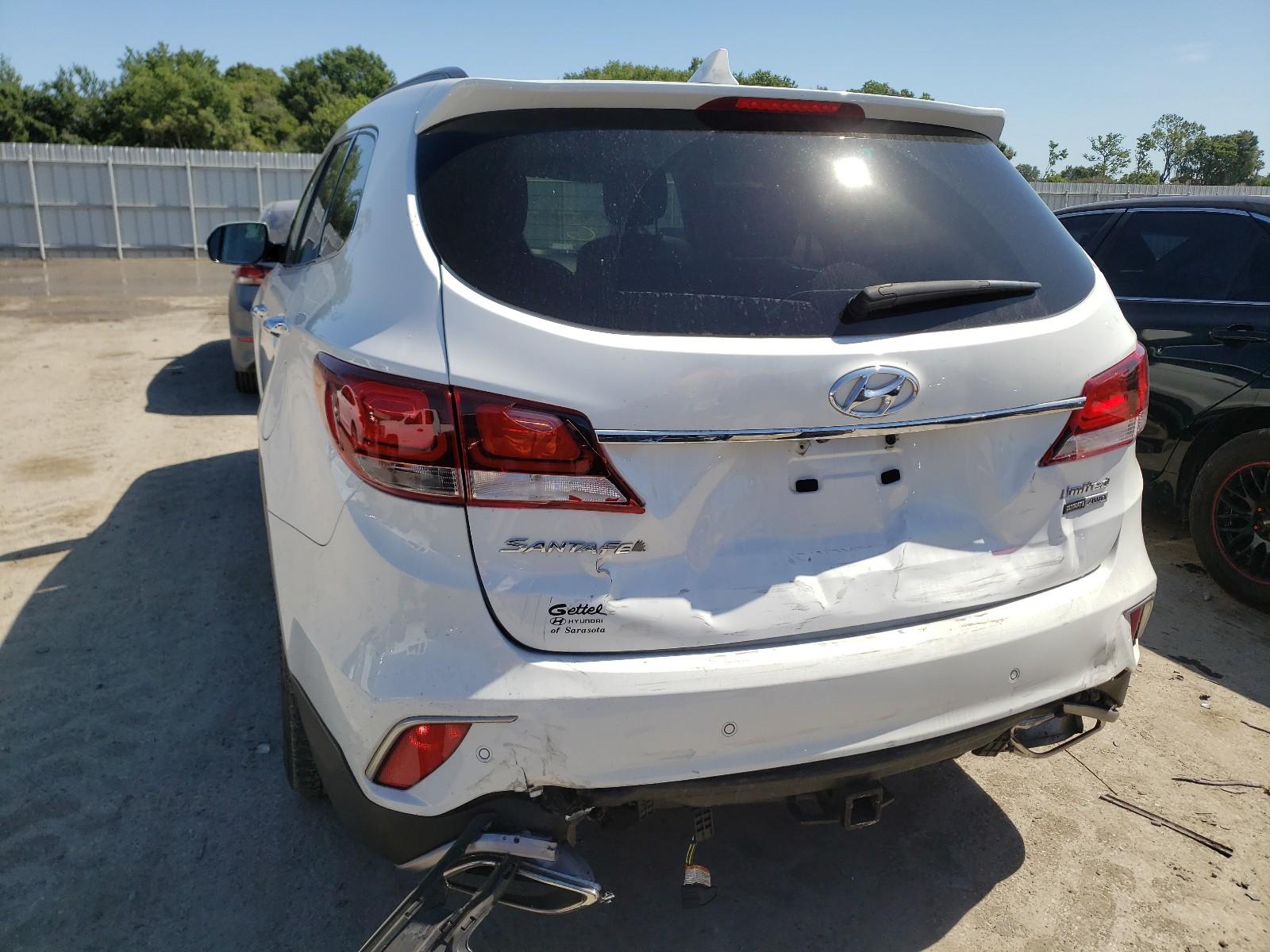 Hyundai Santa fe s 2017