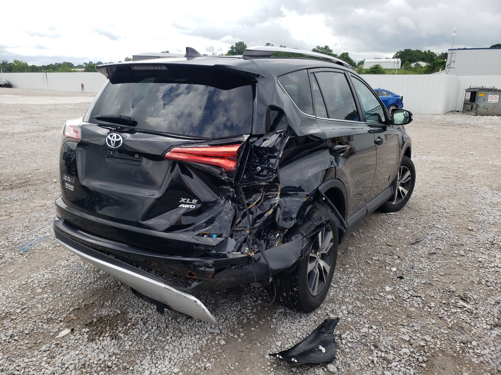 Toyota Rav4 xle 2016