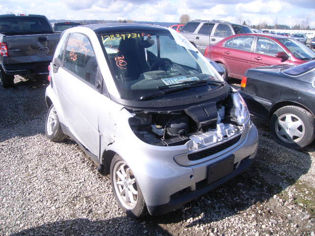 Salvage SMART FORTWO PUR 1.0L 3 2009