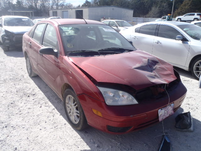 COPART Lot #18607694 2005 FORD FOCUS ZX4