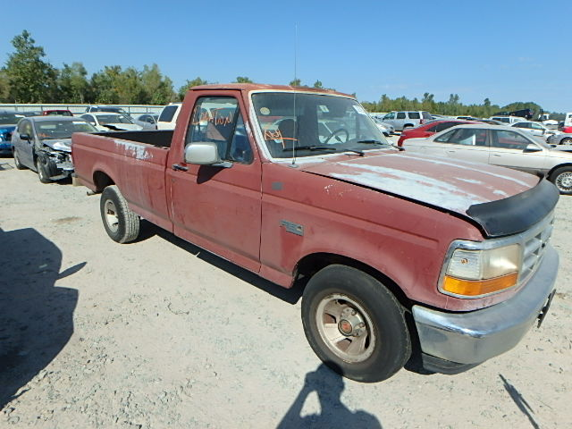 COPART Lot #21917967 1992 FORD F150