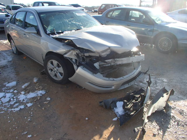 COPART Lot #14368405 2008 CHEVROLET IMPALA LT