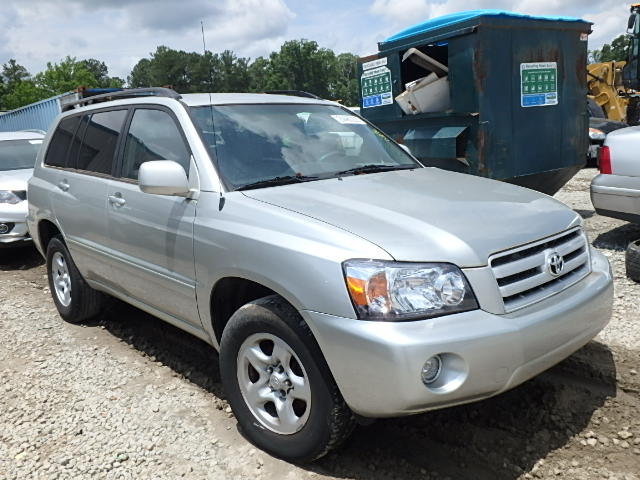 The Highlander Atlanta >> Auto Auction Ended on VIN: JTEGD21A140101877 2004 Toyota Highlander in Atlanta South, GA