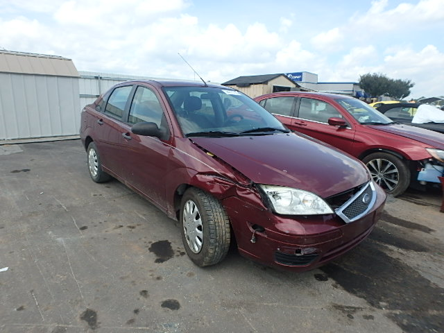 COPART Lot #24771725 2006 FORD FOCUS ZX4