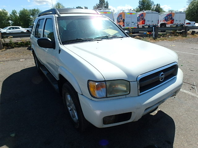 COPART Lot #24763127 2002 NISSAN PATHFINDER