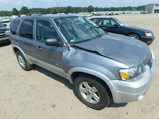 COPART Lot #27370307 2007 FORD ESCAPE HEV