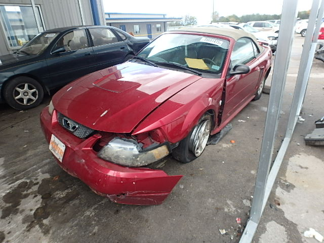 1FAFP44634F146641 - 2004 FORD MUSTANG