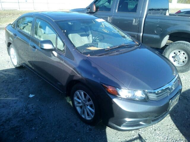 COPART Lot #28831087 2012 HONDA CIVIC EX