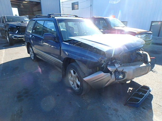 JF1SF65592H707509 - 2002 SUBARU FORESTER S