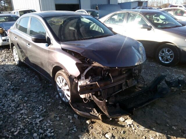 3N1AB7APXEY218286 - 2014 NISSAN SENTRA S/S