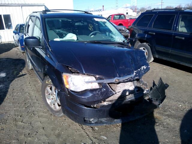 COPART Lot #16280846 2008 CHRYSLER TOWN & COU