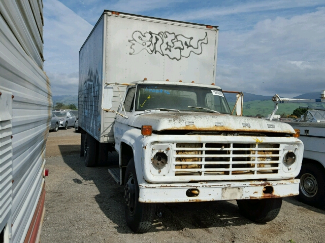 COPART Lot #15200896 1975 FORD F600