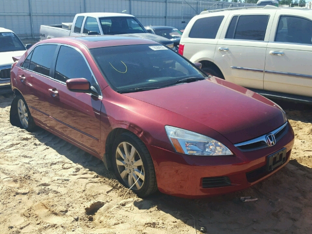 COPART Lot #18384536 2007 HONDA ACCORD EX