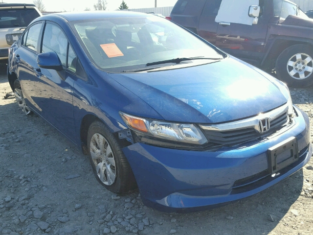 COPART Lot #18476706 2012 HONDA CIVIC LX