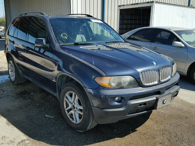 COPART Lot #18345026 2006 BMW X5 4.4I