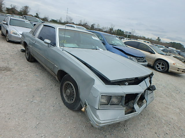 1G3AM47A8DM467681 - 1983 OLDSMOBILE CUTLASS SU