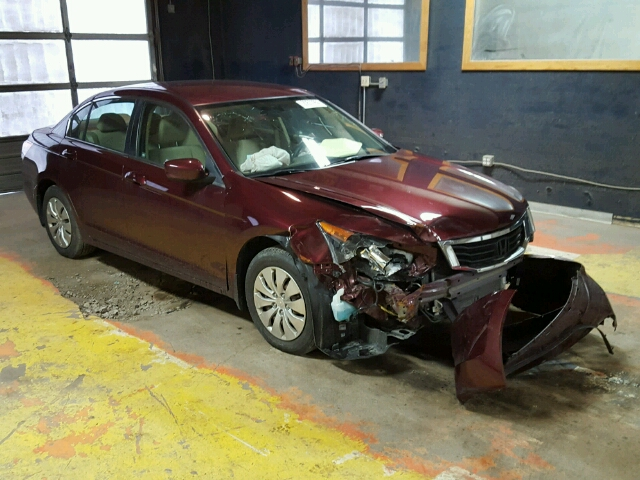 COPART Lot #20523956 2010 HONDA ACCORD LX