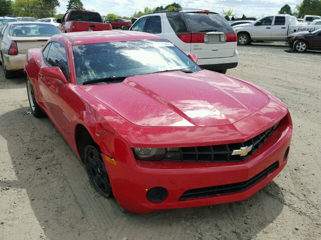 COPART Lot #21218406 2011 CHEVROLET CAMARO LS
