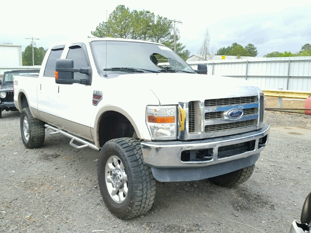 1FTSW2BR6AEA91861 - 2010 FORD F250 SUPER