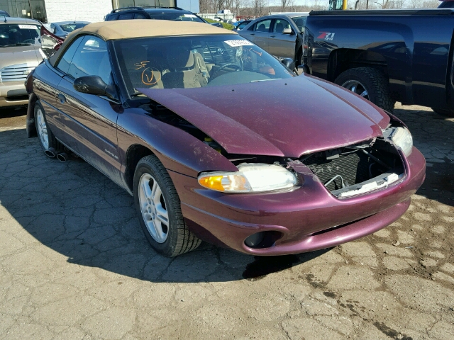 COPART Lot #21664236 1999 CHRYSLER SEBRING JX