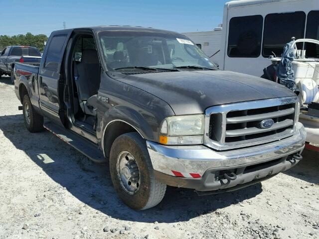 1FTNW20P34EB78636 - 2004 FORD F250 SUPER