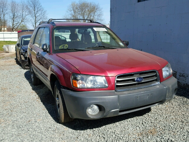 JF1SG636X3H701180 - 2003 SUBARU FORESTER