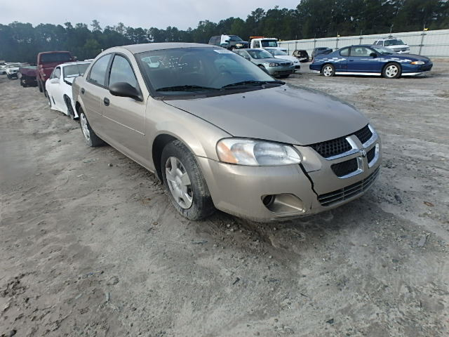 COPART Lot #25137366 2004 DODGE STRATUS SE