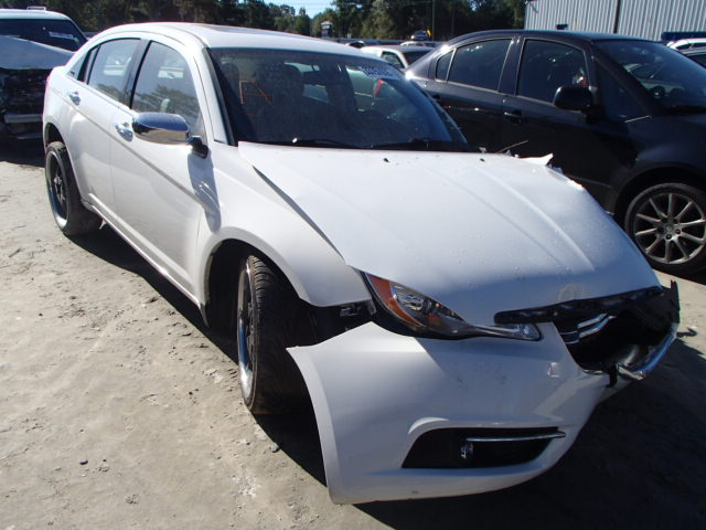 COPART Lot #27153086 2011 CHRYSLER 200 LIMITE