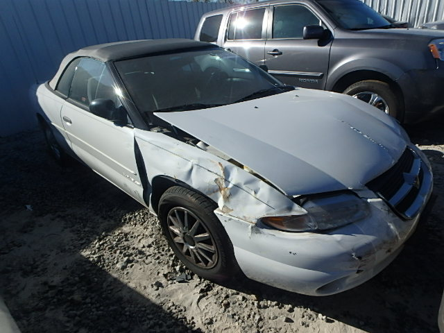 COPART Lot #27878186 1997 CHRYSLER SEBRING JX