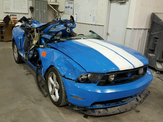 1ZVBP8CH2A5117925 - 2010 FORD MUSTANG GT