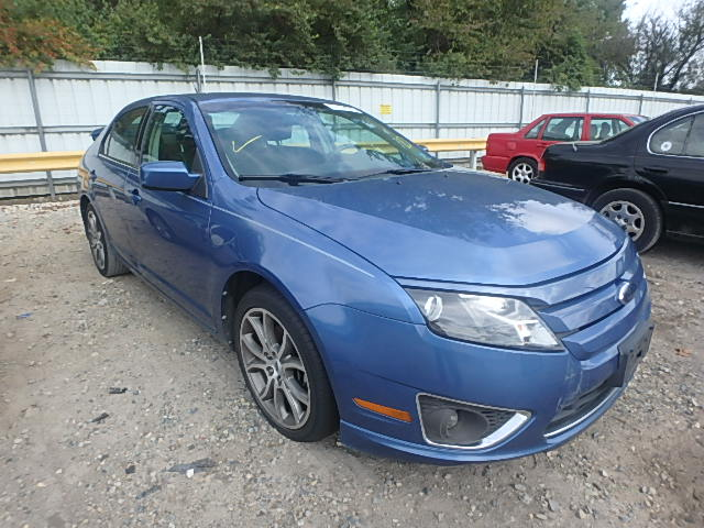 COPART Lot #37338036 2010 FORD FUSION SE