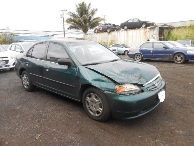COPART Lot #39845656 2001 HONDA CIVIC LX