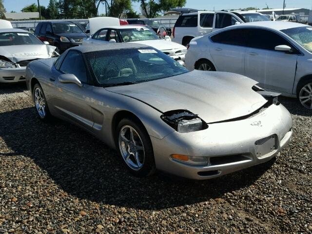 Salvage V | 2002 Chevrolet Corvette