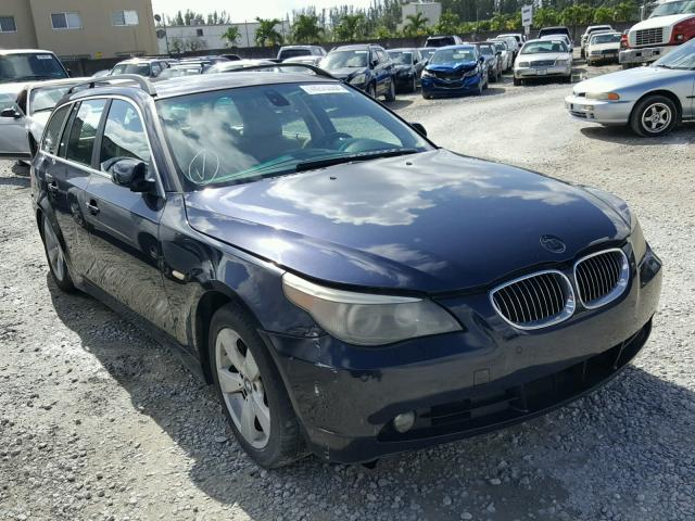 COPART Lot #18279857 2006 BMW 530XIT