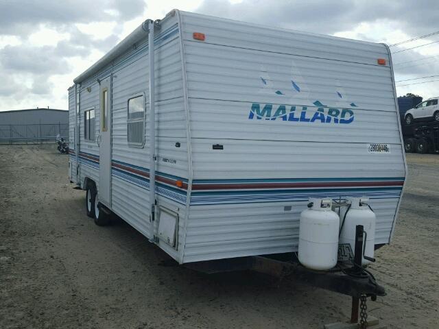 1EF1X272114087921 - 2001 FLET MALLARD