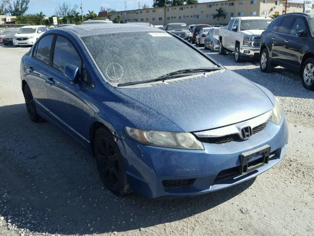 COPART Lot #33703796 2009 HONDA CIVIC EX