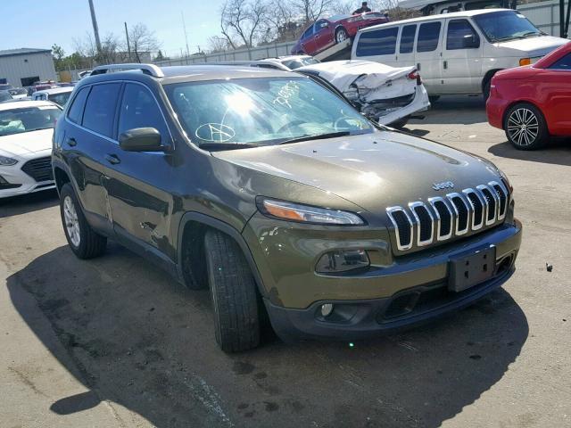 2015 Jeep Cherokee l 2.4. Lot 32683929 Vin 1C4PJMCB1FW710031