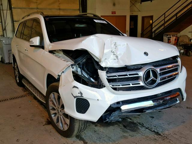click here to view 2019 MERCEDES-BENZ GLS 450 4M at IBIDSAFELY