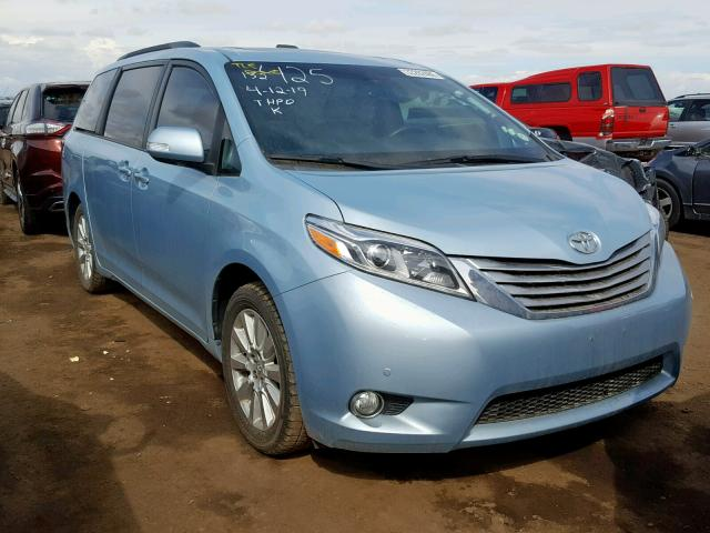 click here to view 2015 TOYOTA SIENNA XLE at IBIDSAFELY